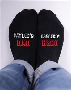 Personalised Hero Socks