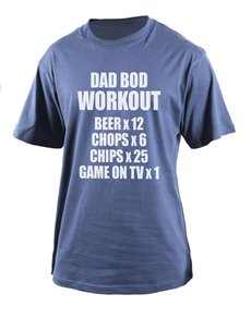 Personalised Dad Bod T Shirt