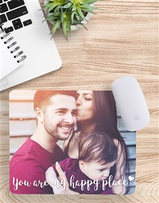 Personalised Message Photo Mouse Pad