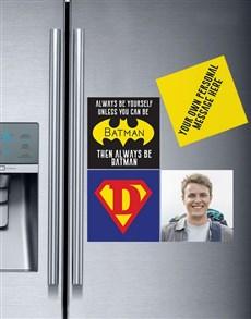 Personalised Superhero Magnets
