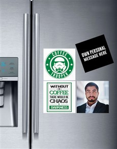 Personalised Coffee Lovers Magnets