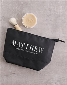 Personalised Perfection Gents Wash Bag
