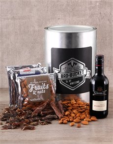Wine & Biltong Bro Bucket